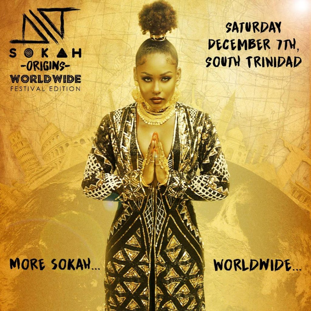 Nailah Blackman's Sokah Origins will be held on December 7.  -