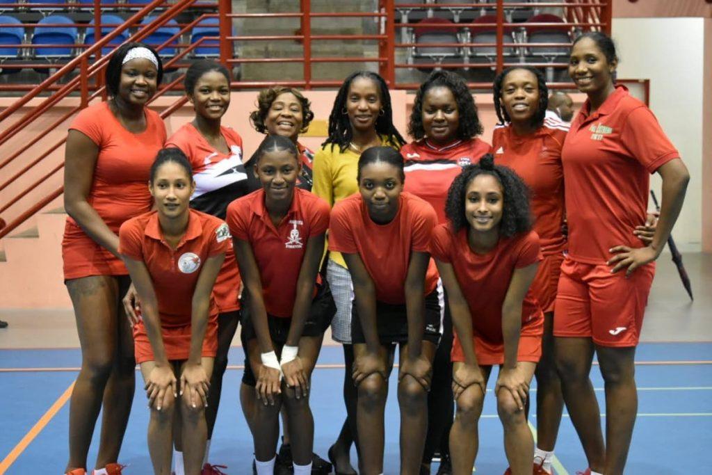 UTT's women's netball team. - Sherdon Pierre