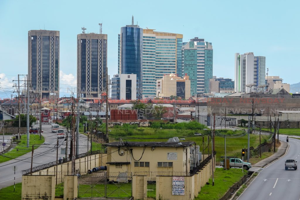 The city of Port of Spain.