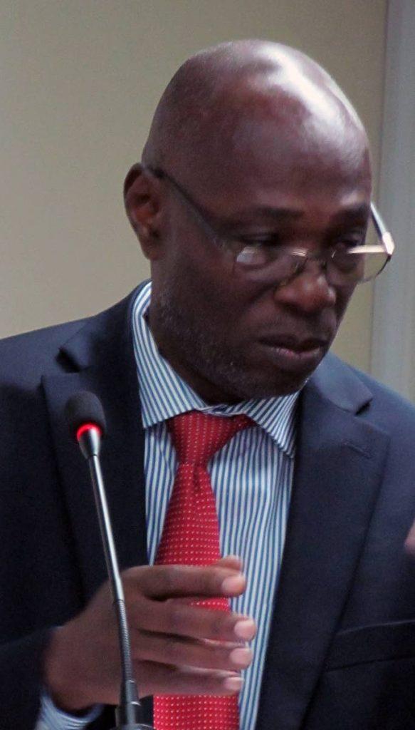 Dillon Alleyne, Deputy Director, ECLAC Subregional Headquarters for the Caribbean.  -