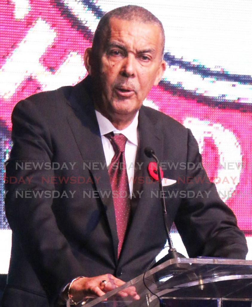 Former president Anthony Carmona. - ANGELO M MARCELLE
