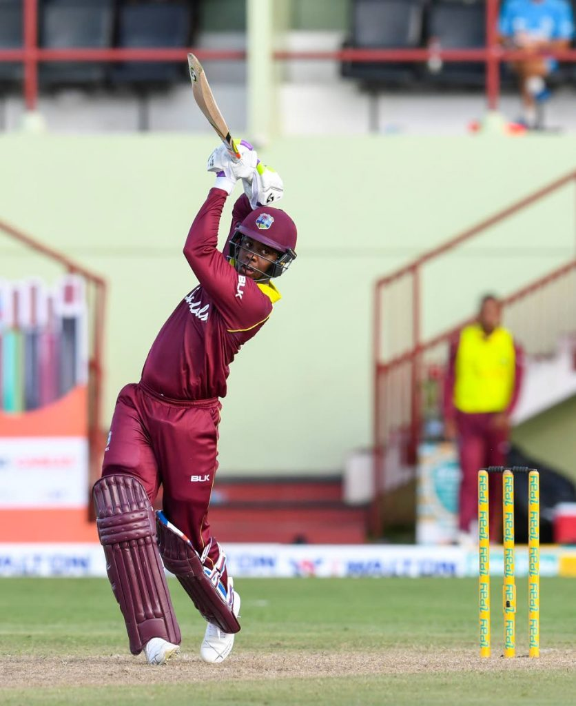 West Indies batsman Shimron Hetmyer. - CWI Media