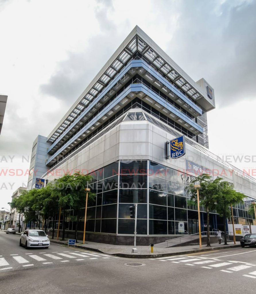 A RBC branch on Park Street, Port of Spain.
