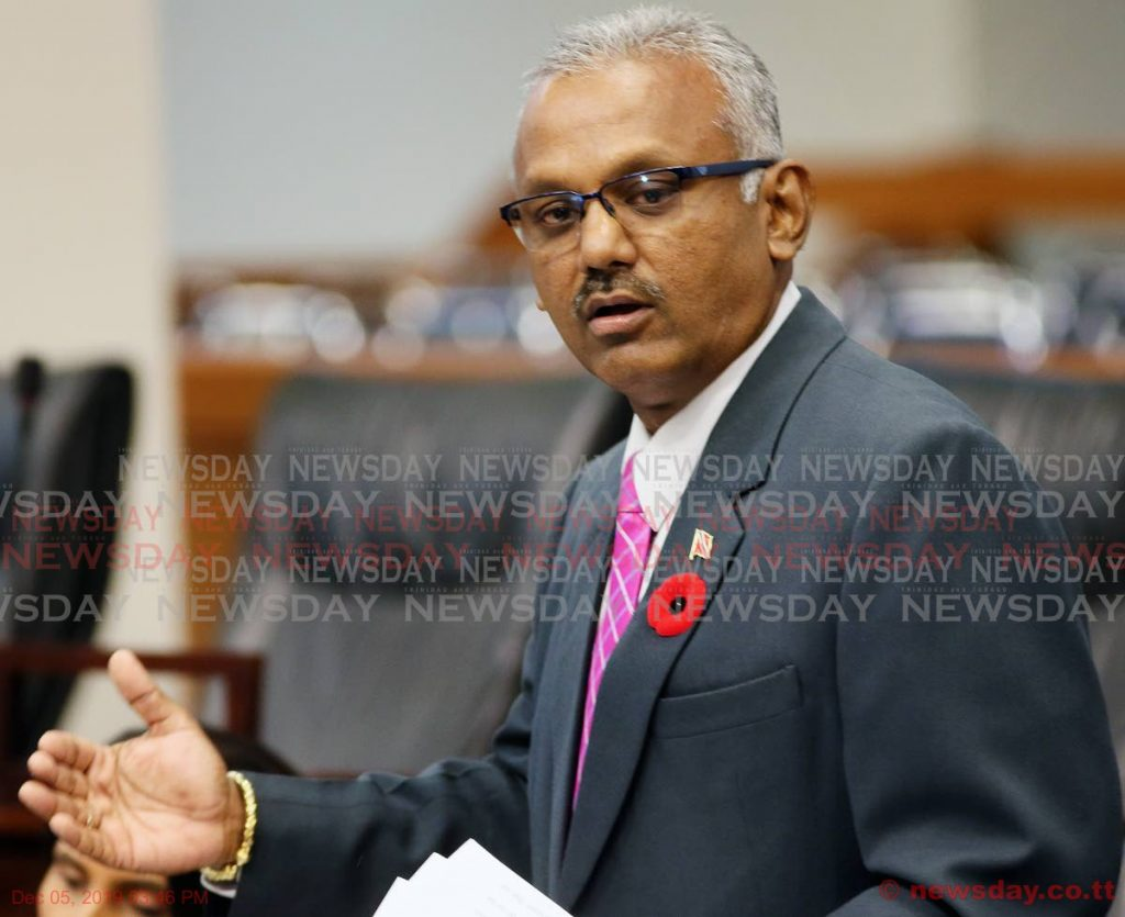 MP for Couva South Rudy Indarsingh -