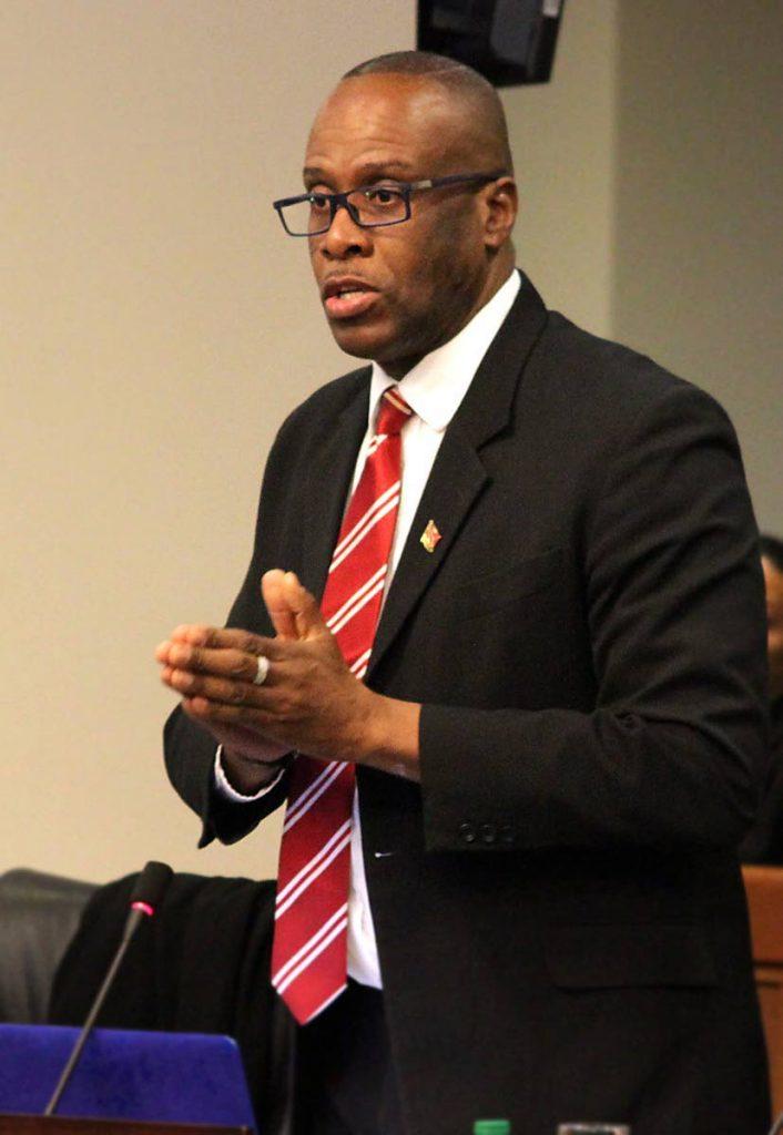 Independent Senator Paul Richards -