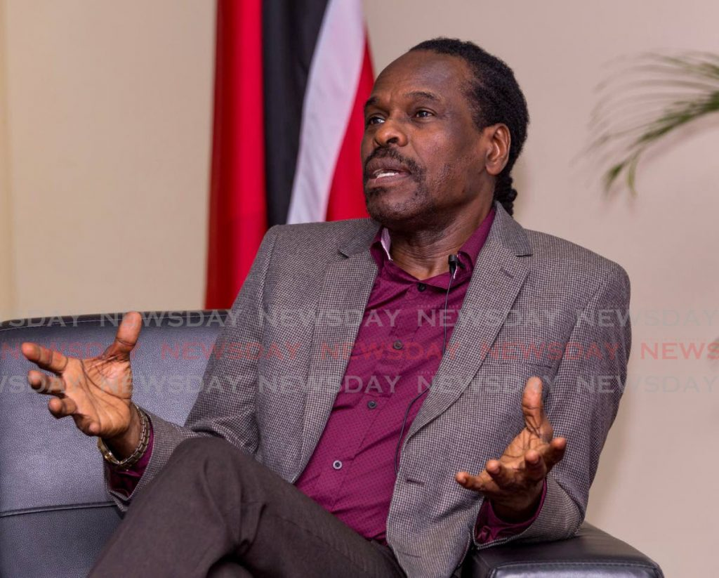 National Security Minister Fitzgerald Hinds.