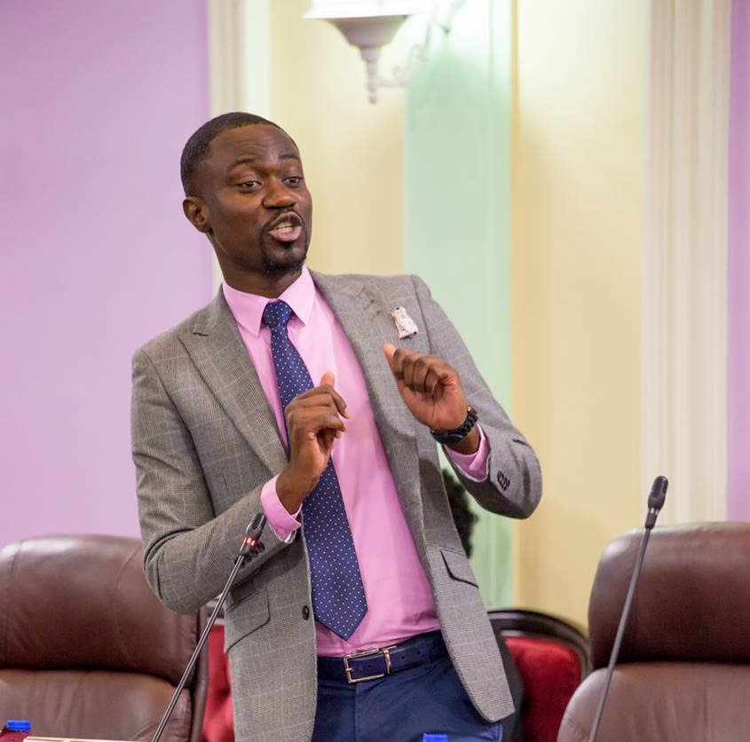 Minority Assemblyman Farley Augustine said there are many benefits to the airport expansion project but transparency is lacking.  -