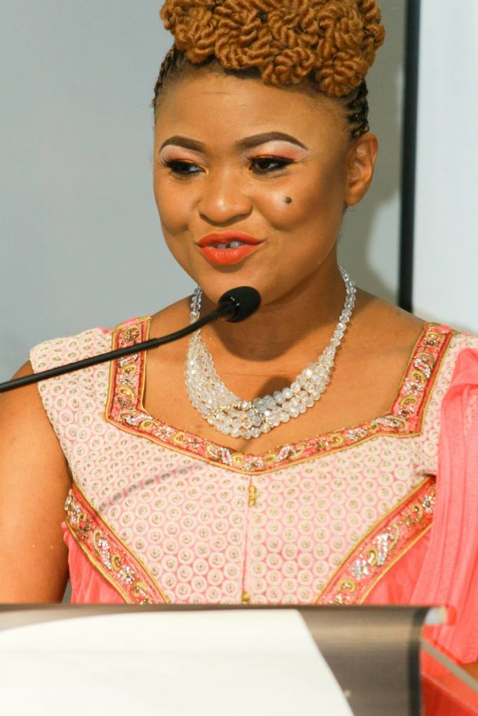 Minister of Community Development Culture and the Arts Nyan Gadsby-Dolly .