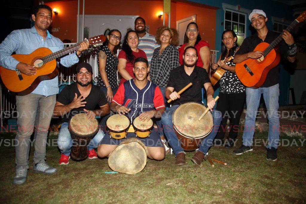 Venezuelan Heritage of Parranda will perform at the Trinidadian-Venezuelan Christmas Bazaar in Arima this weekend. - SUREASH CHOLAI