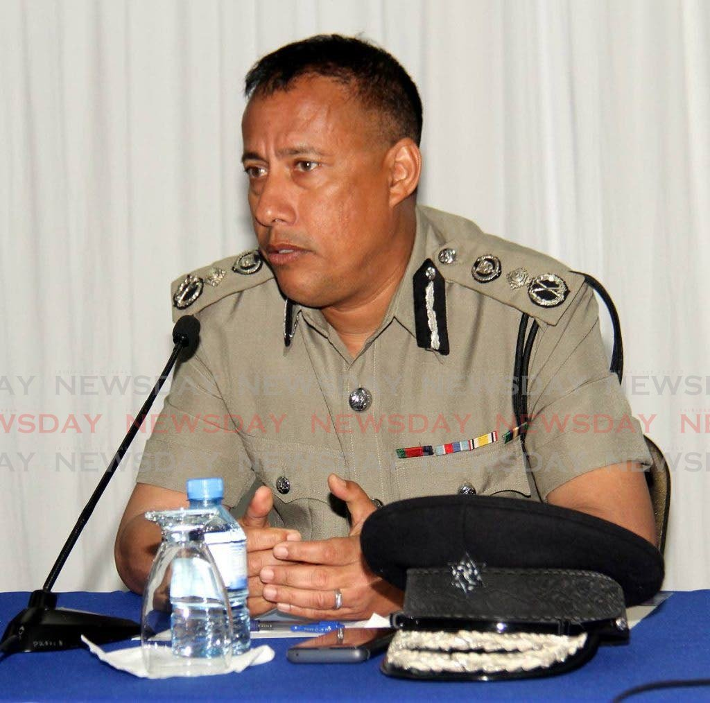 Commissioner of Police Gary Griffith. -