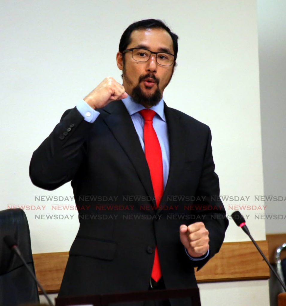 National Security Minister Stuart Young   - Sureash Cholai