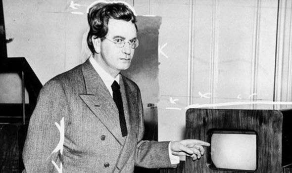 John Logie Baird, inventor of the television.  Source: express.co.uk  -