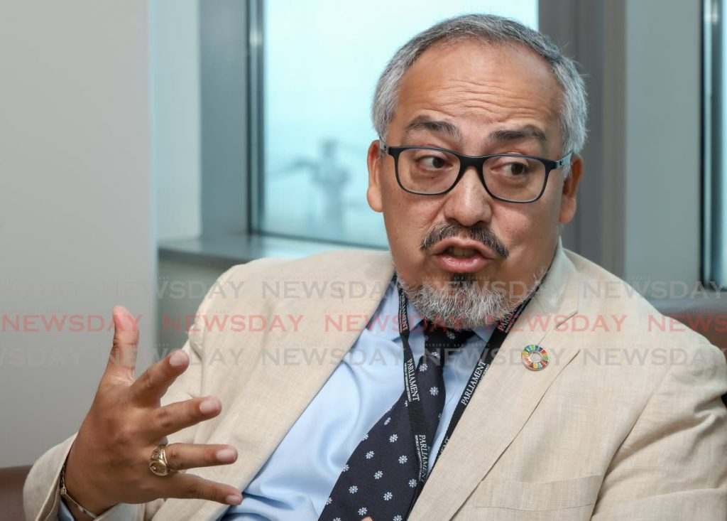 UNAids regional director Dr Cesar Nunez, in a recent interview at Tower D, International Waterfront, Port of Spain, identifies treatment for migrants as an area for governments to address in their HIV/Aids policies. - Jeff Mayers