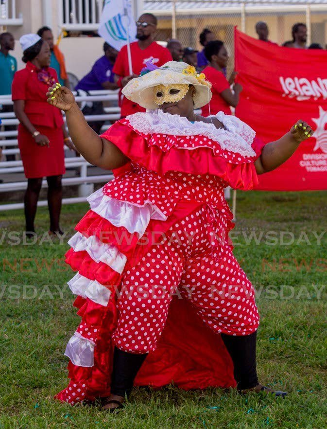 The Division of Tourism, Culture and Transportation put on a show and had lots of fun at Tobago Day sports and family day in Buccoo on Friday. - DAVID REID