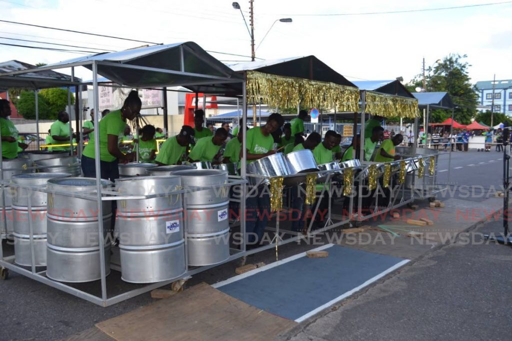Roadblock Steelband of Trou Macaque, Laventille, has relocated to the Queen's Park Savannah, Port of Spain, due to fears of borderline gang violence.  - Gary Cardinez