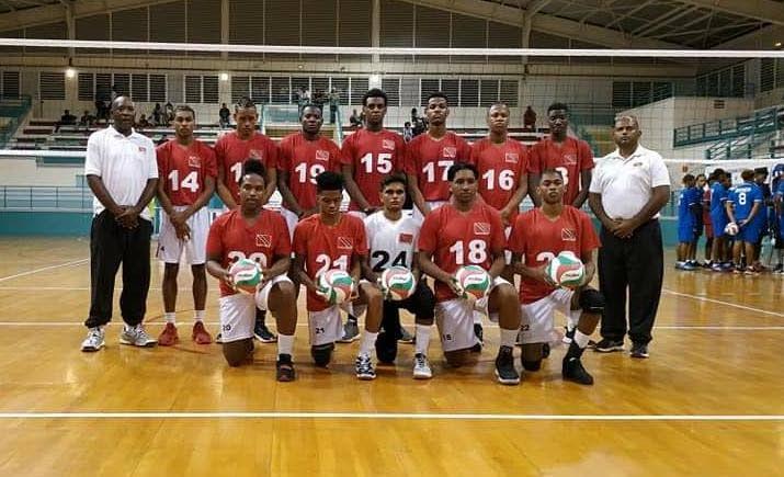 TT's Under-21 men's volleyball team. -