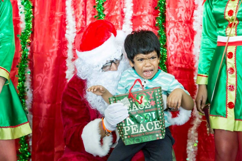 Not every child is a fan of Santa. Children should not be forced to visit Santa. -