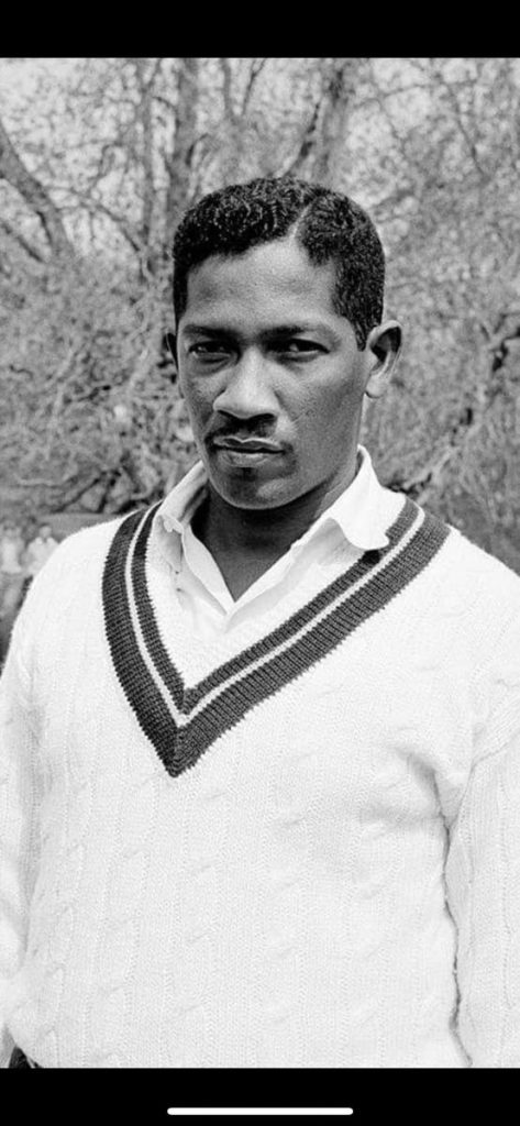 West Indies cricket legend Basil Butcher. - CWI Media