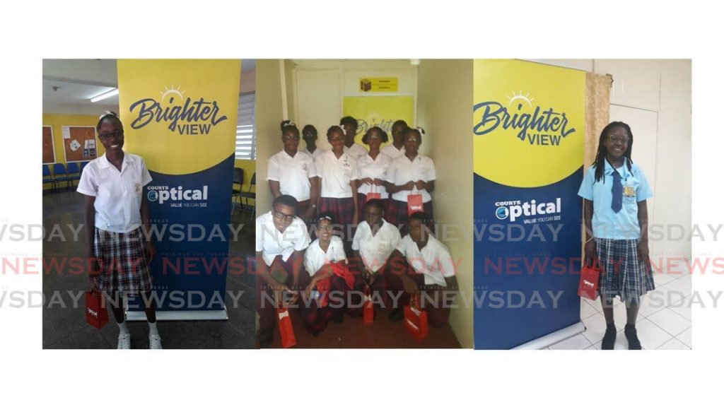 Recipients of Courts Optical Brighter View Initiative  -