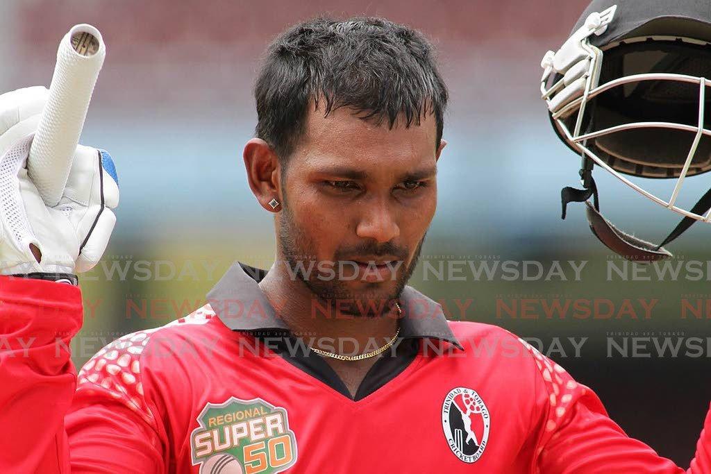 TT Red Force captain Denesh Ramdin. -