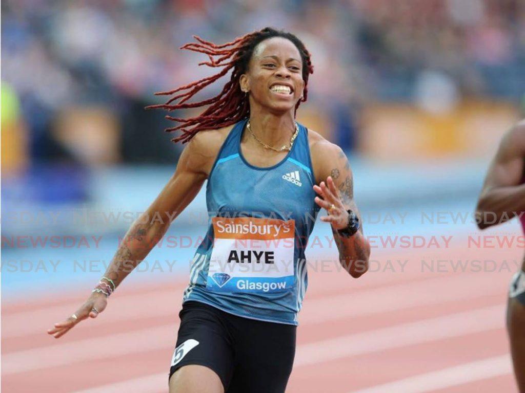 TT sprinter Michelle-Lee Ahye. -