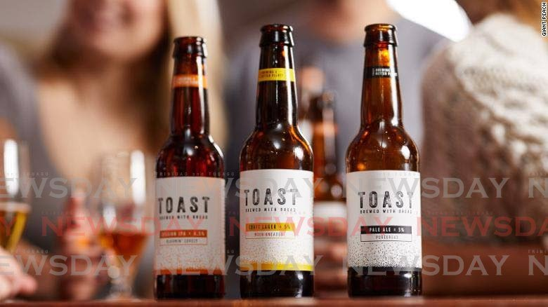 beer made from bread -