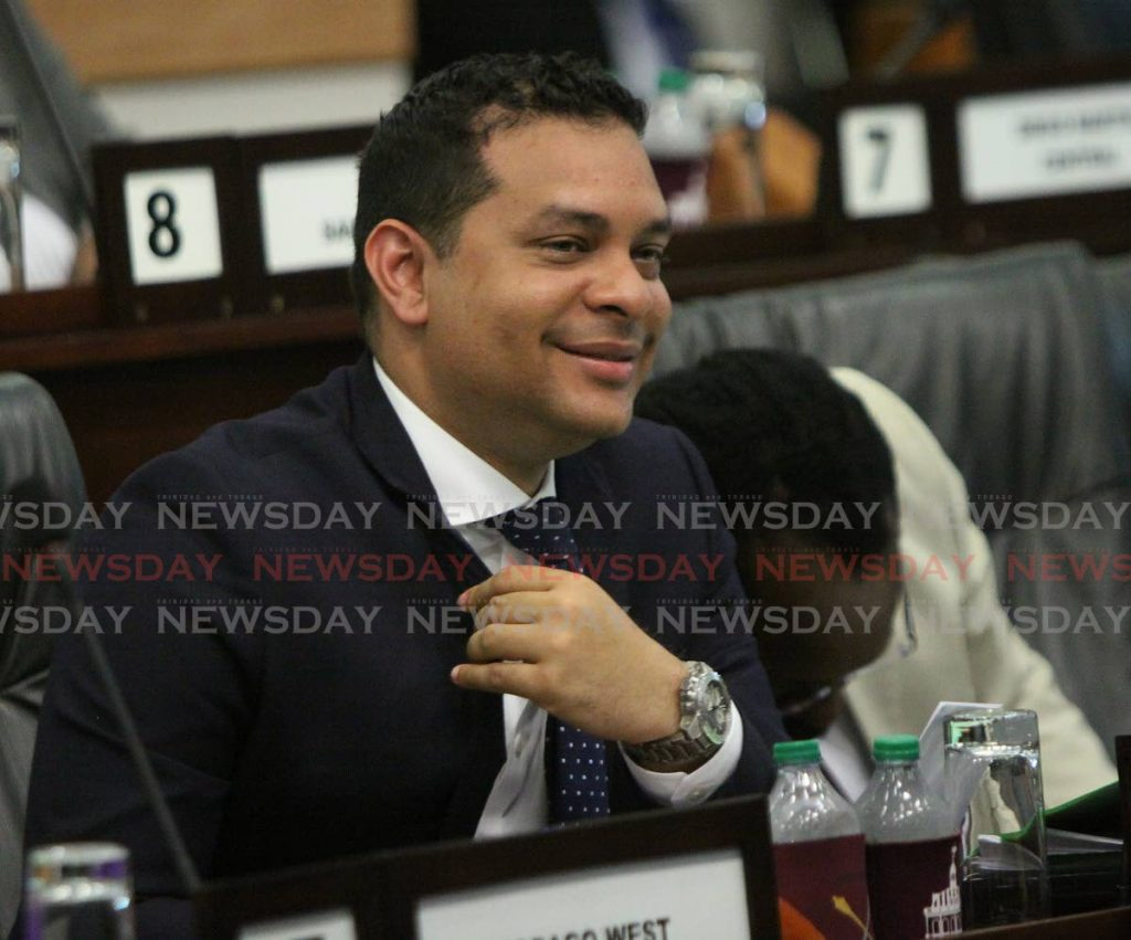 Tourism Minister Randall Mitchell -