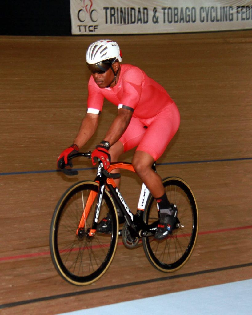 TT cyclist Nicholas Paul  -