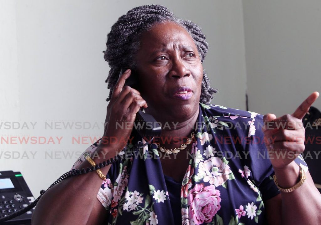 Pan Trinbago president Beverly Ramsey-Moore. -