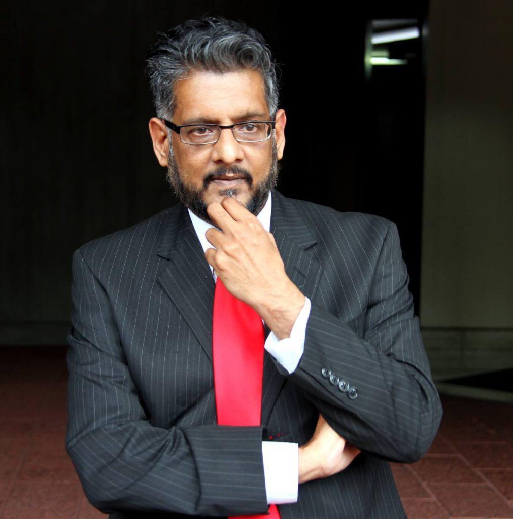 Former UNC senator Devant Maharaj -