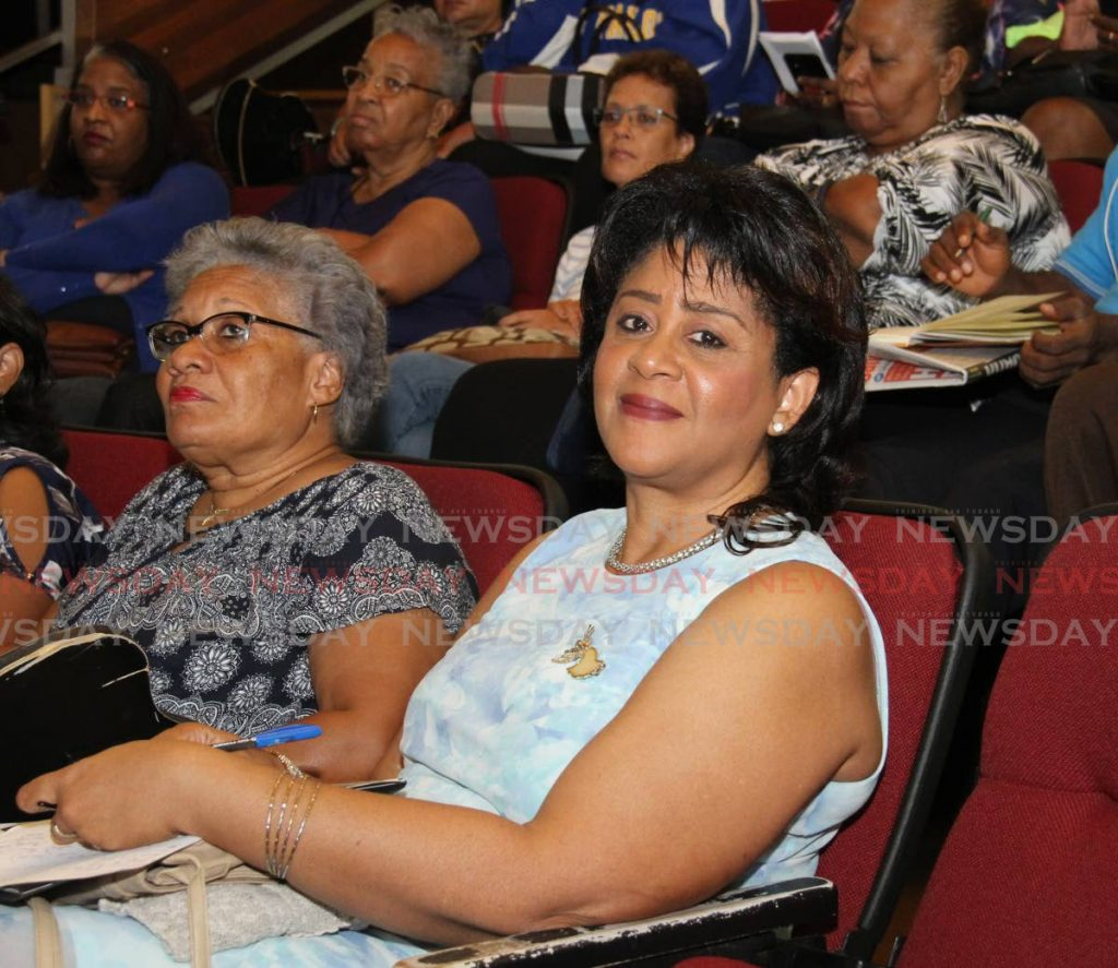 President of the TT Association of Psychologists Dr Margaret Nakhid-Chatoor.  PHOTO BY AYANNA KINSALE -