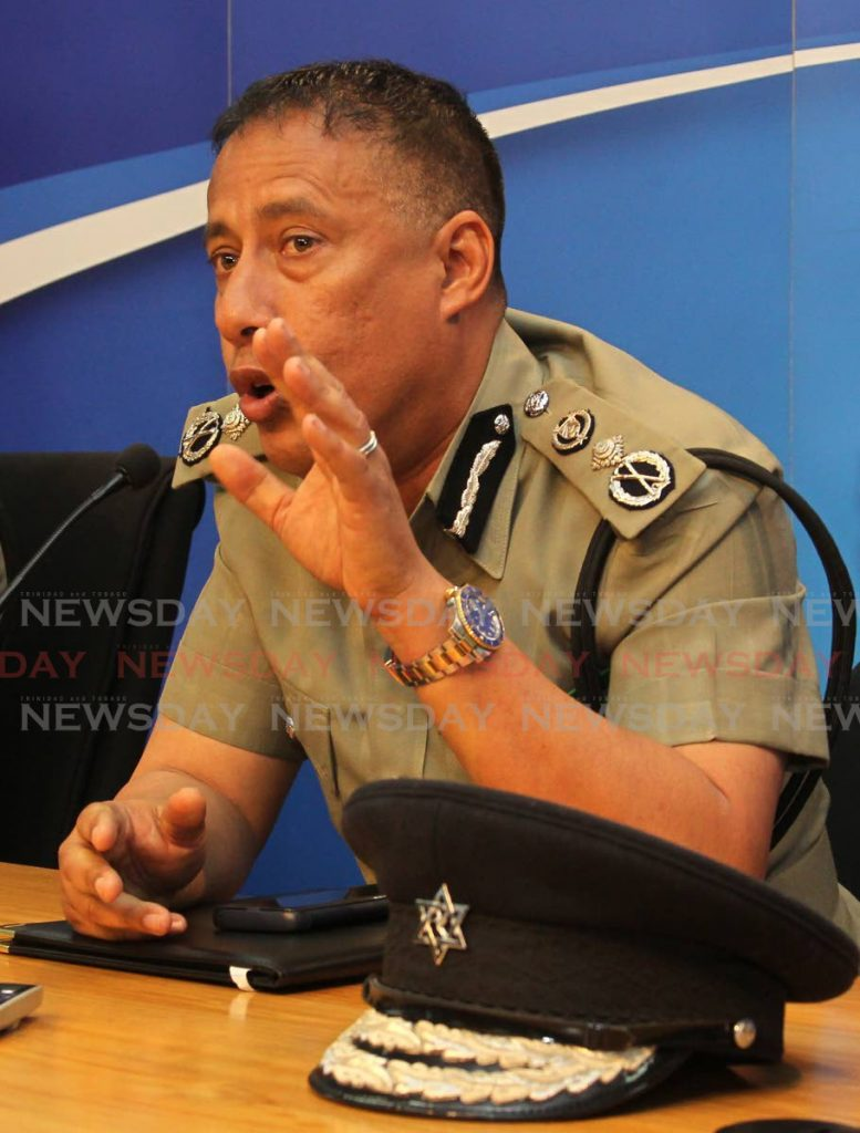 """NOT SO: Police Commissioner Gary Griffith was left angry at the """"call back, we busy"""" response of a Govt-contracted domestic violence hotline to a woman who called to report her husband had beaten her.  - ROGER JACOB"""