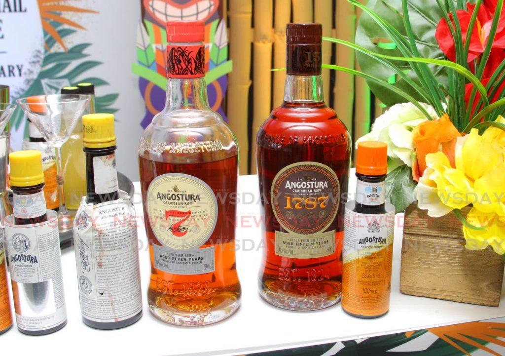 A arrange of Angostura rums and its world famous aromatic bitters. Angostura Ltd has appointed a new CEO, Peter Sandstrom. - ROGER JACOB