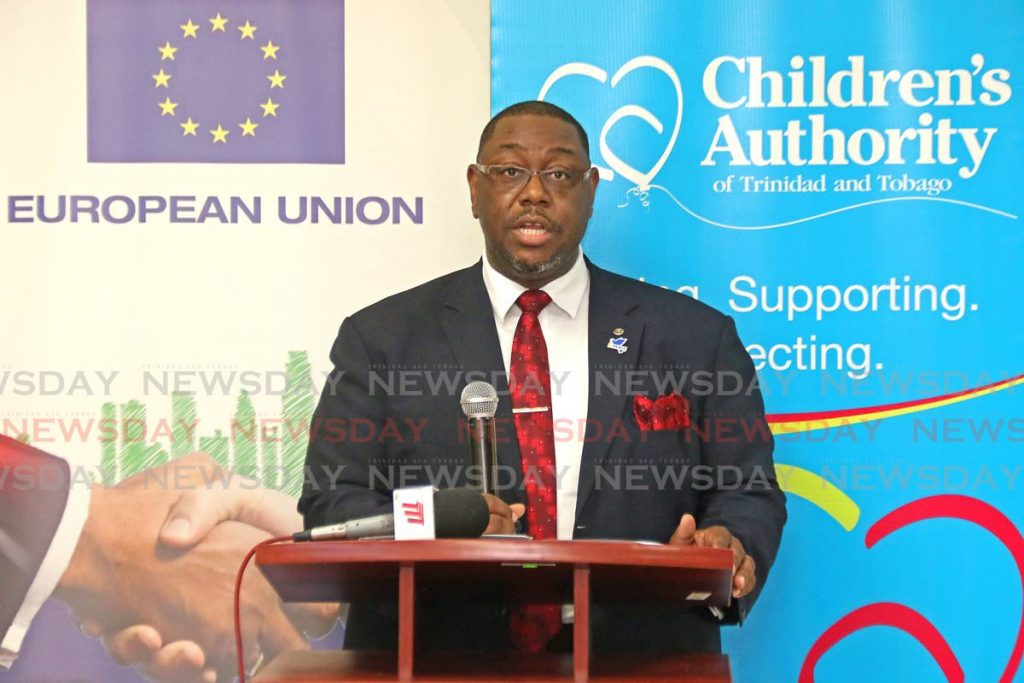 Children's Authority chairman Hanif E.A Benjamin. - Marvin Hamilton