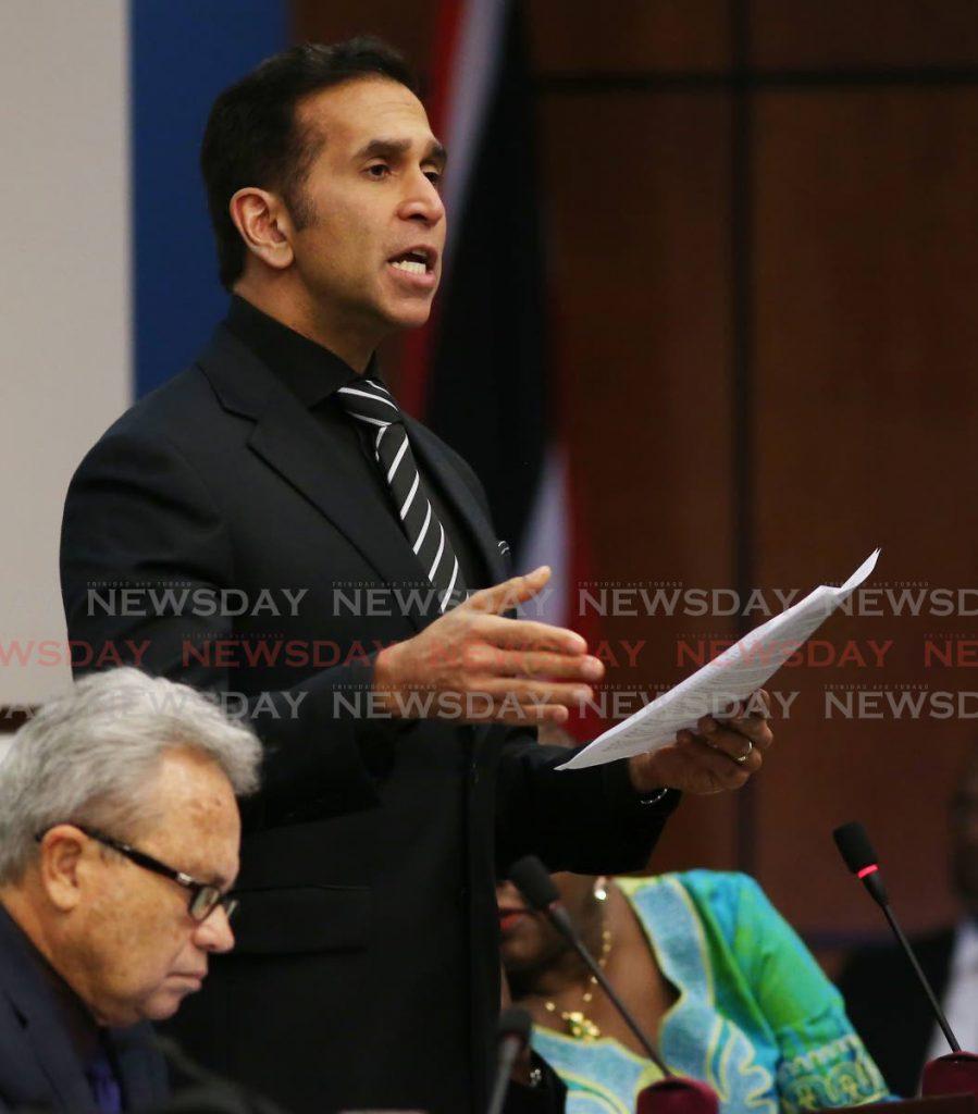 Attorney General Faris Al Rawi. - Angelo Marcelle
