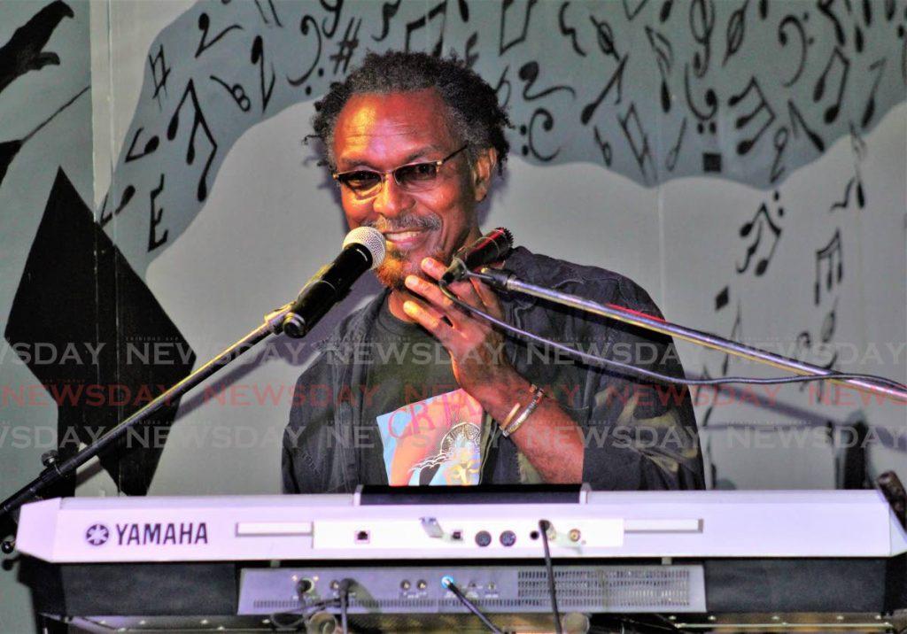Leader of CR Jazz David Boothman.  - Gary Cardinez