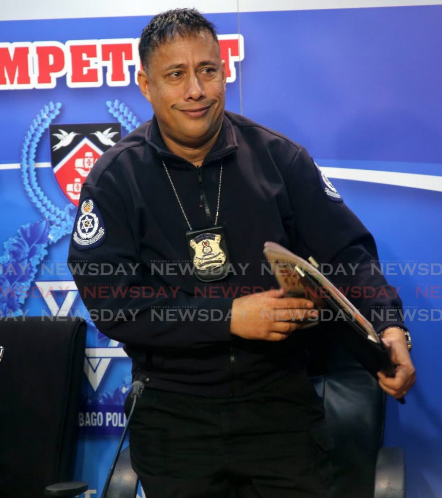 Police Commissioner Gary Griffith PHOTO BY SUREASH CHOLAI -