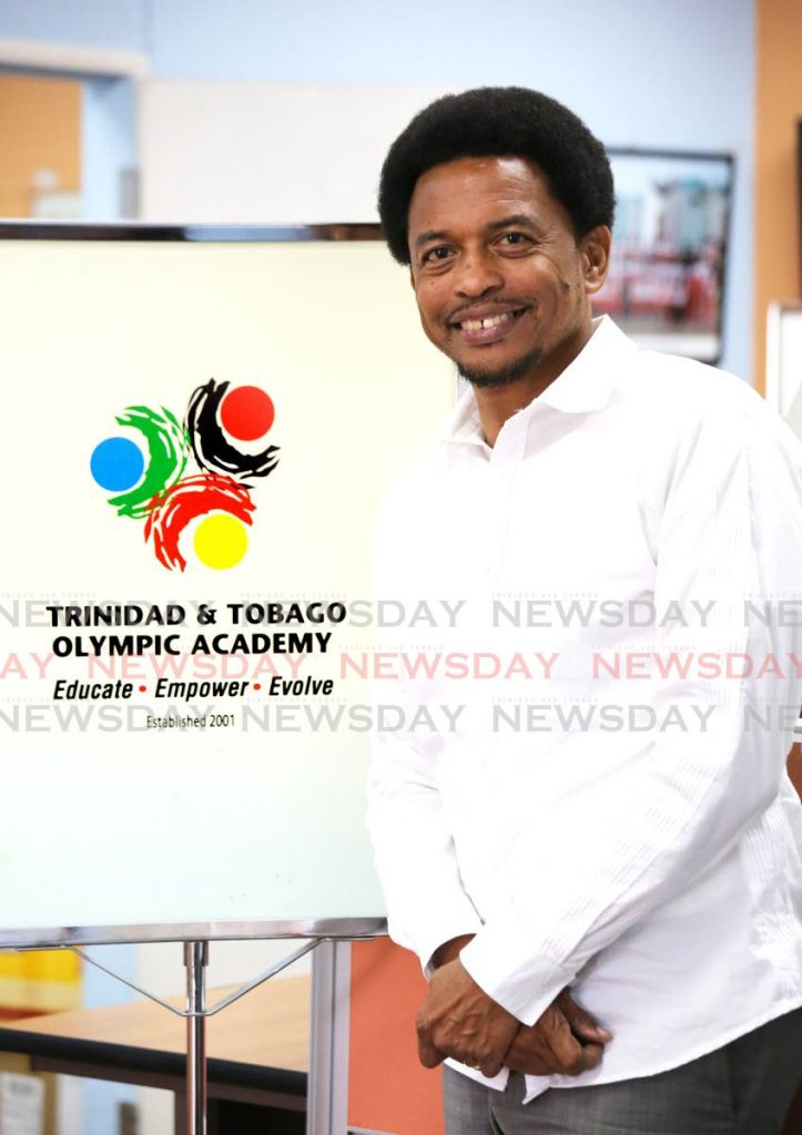 Brian Lewis, president of the TT Olympic Committee. - SUREASH CHOLAI