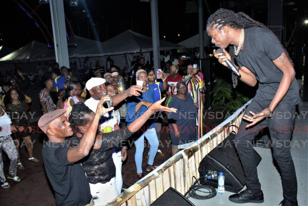 Skinny Banton is heavy on the TT fete rotation for Carnival 2020 with Wrong Again.  - Gary Cardinez