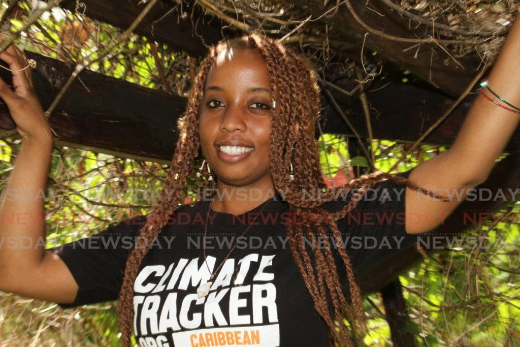 Climate activist Dizzanne Billy. - Angelo Marcelle