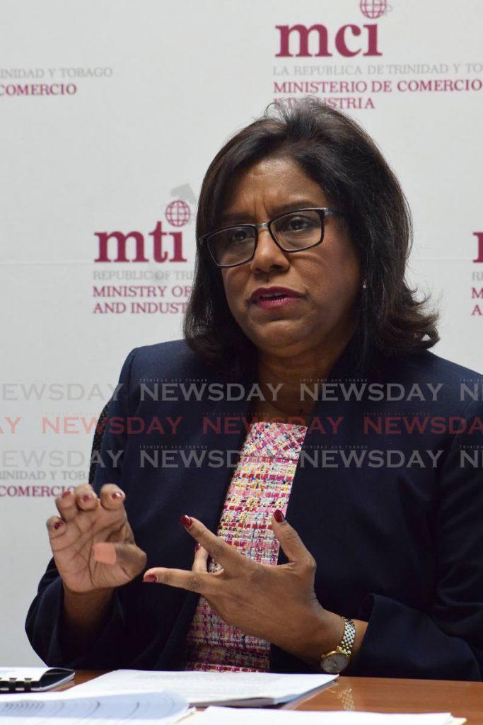 Trade Minister Paula Gopee-Scoon   - Vidya Thurab