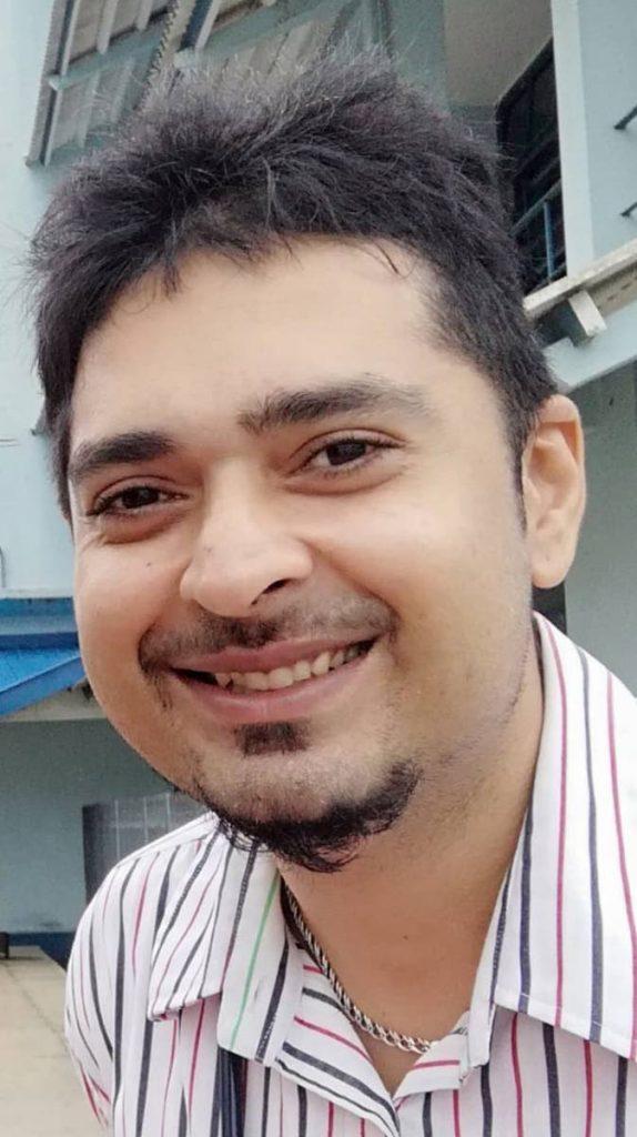 Dr Rudradeva Sharma. -