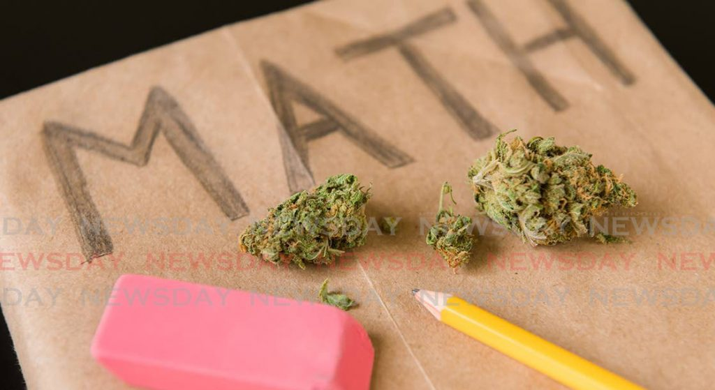 There is a concern about children being used to sell marijuana in schools. -