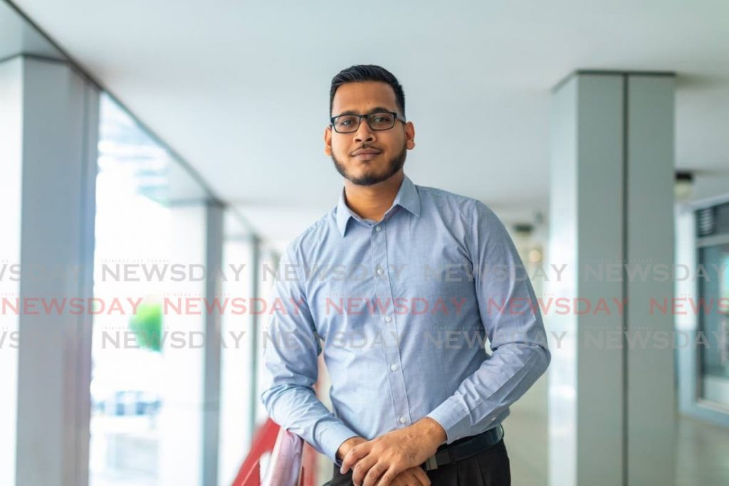 Yajesh Maharaj one of the millennials who heads the business intelligence division of Intelligent Applications Co. -