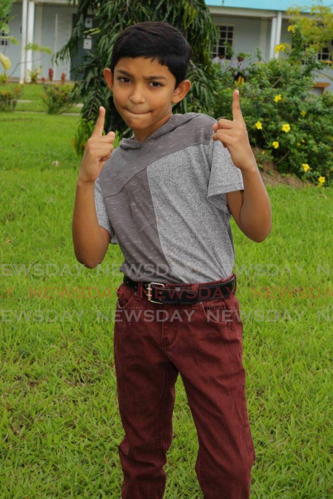 Reigning Junior Chutney Monarch Avindha Singh. PHOTO BY ROGER JACOB - ROGER JACOB