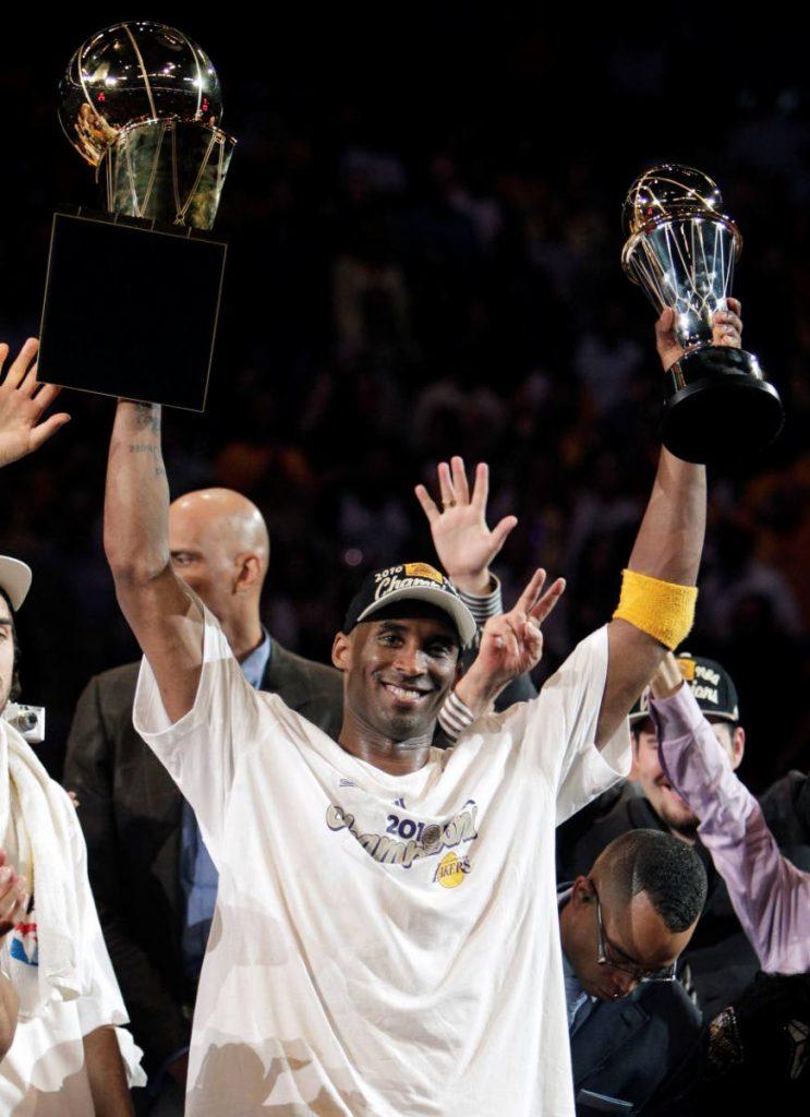 Lakers legend Kobe Bryant  -