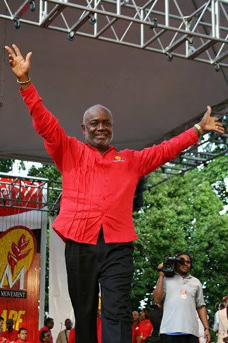 PNM Tobago chairman Stanford Callender -