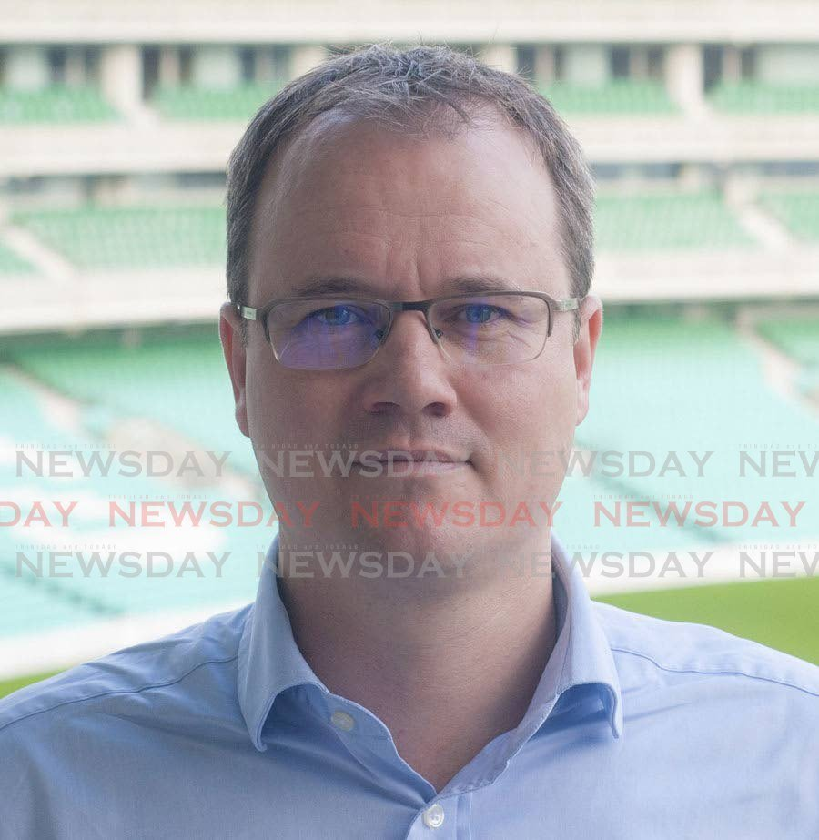 Cricket West Indies CEO Johnny Grave -