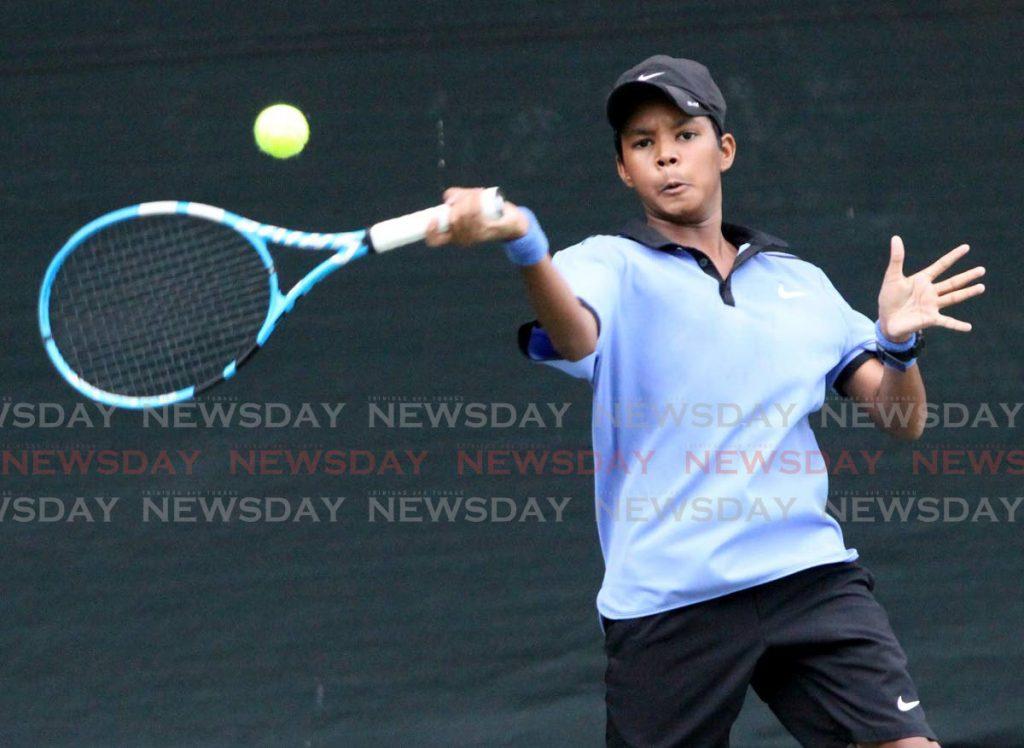 TT tennis player Ethan Wong. - Angelo Marcelle