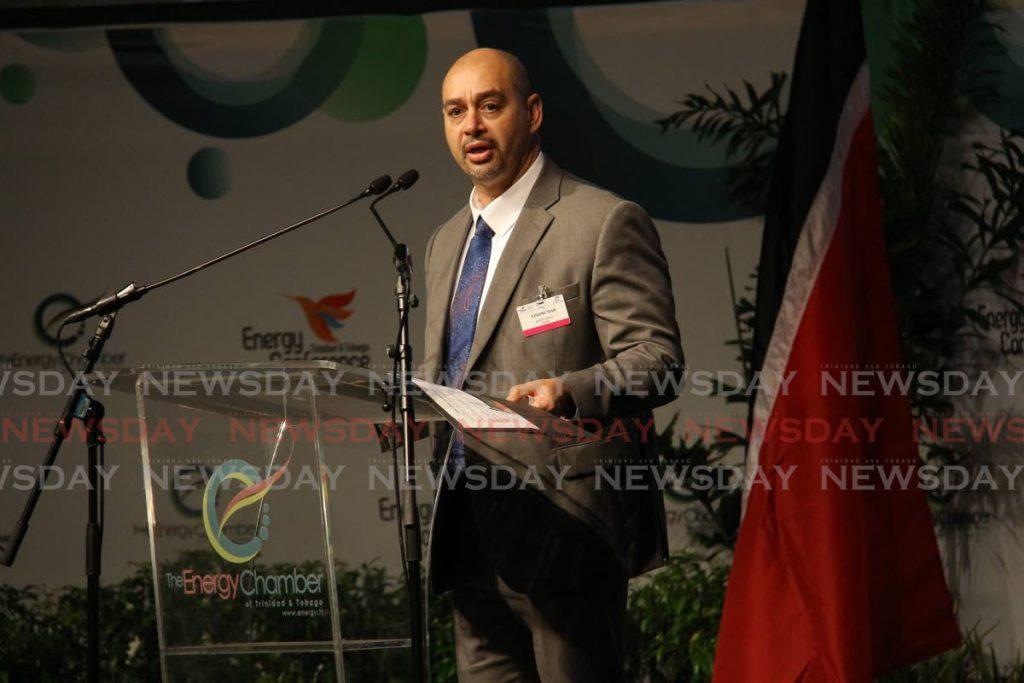 Eugene Tiah, chairman of the TT Energy Chamber. -